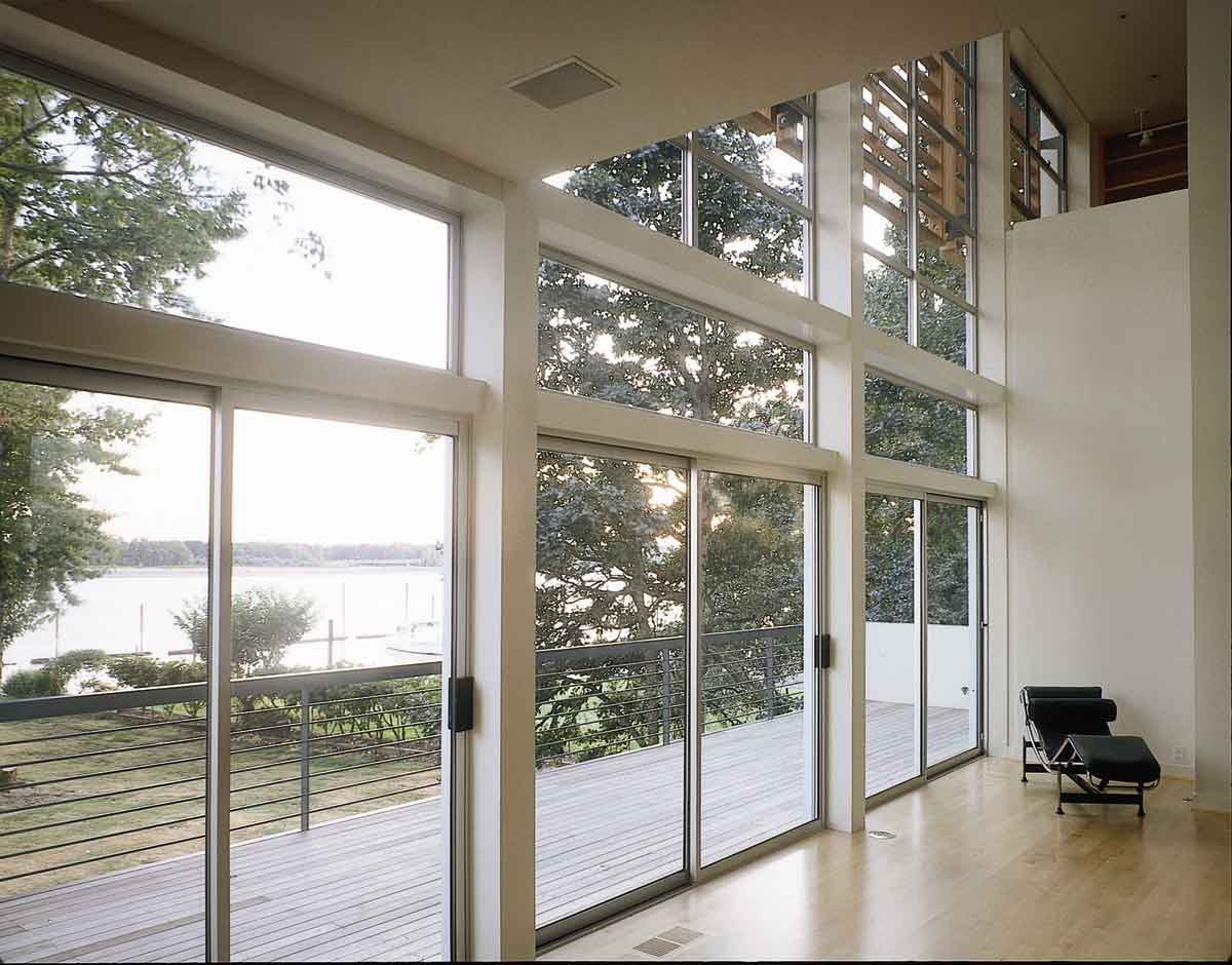 Aluminium panoramic Patio doors