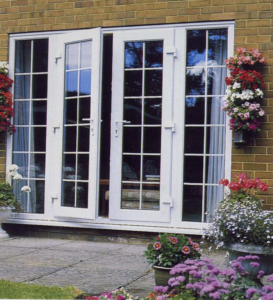 Classic courtyard Patio door