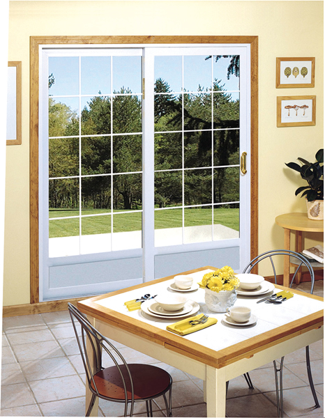 Countryhouse french patio door for Storm doors for french patio doors