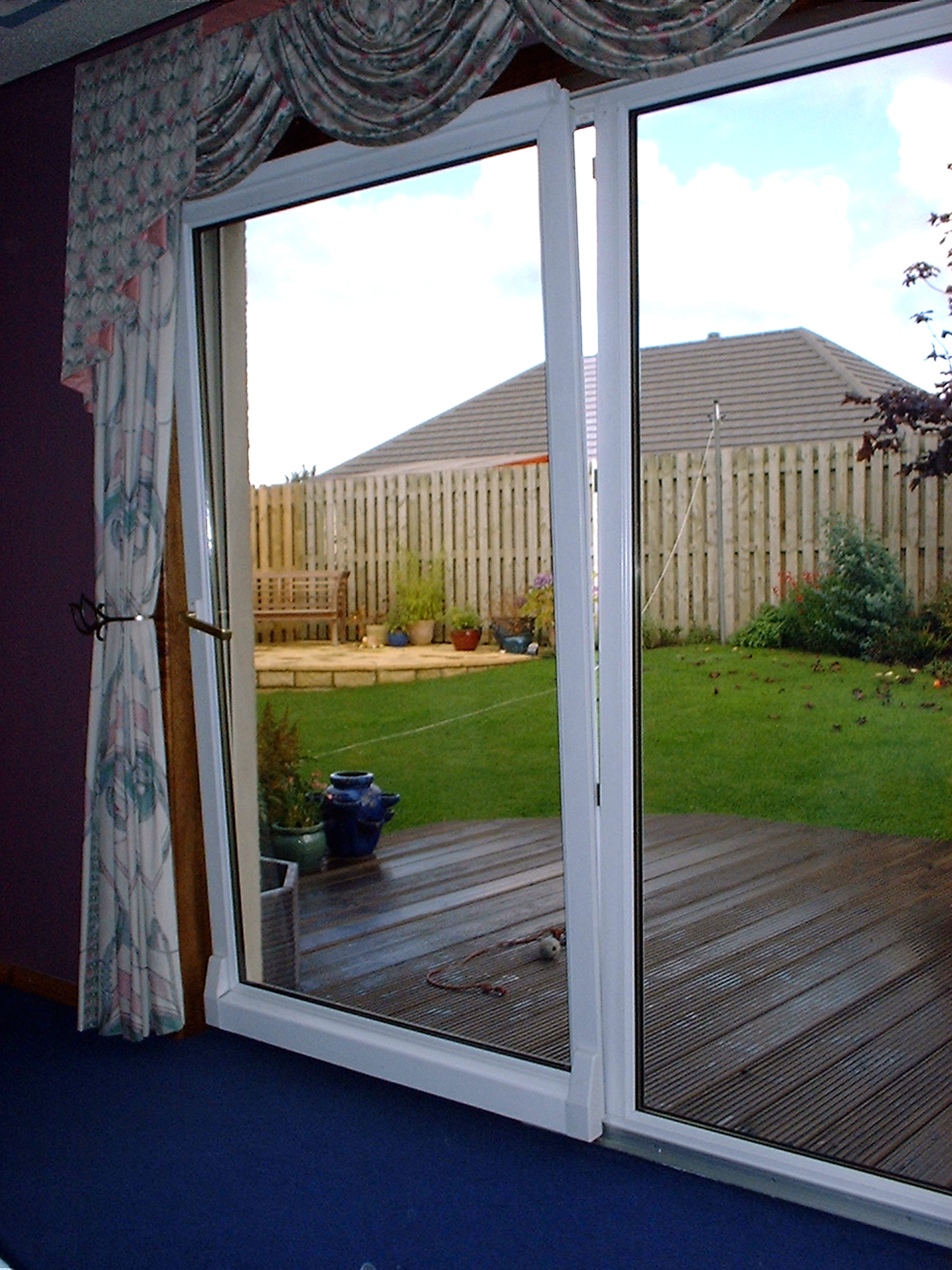 Eight Feet Panoramic Patio Door