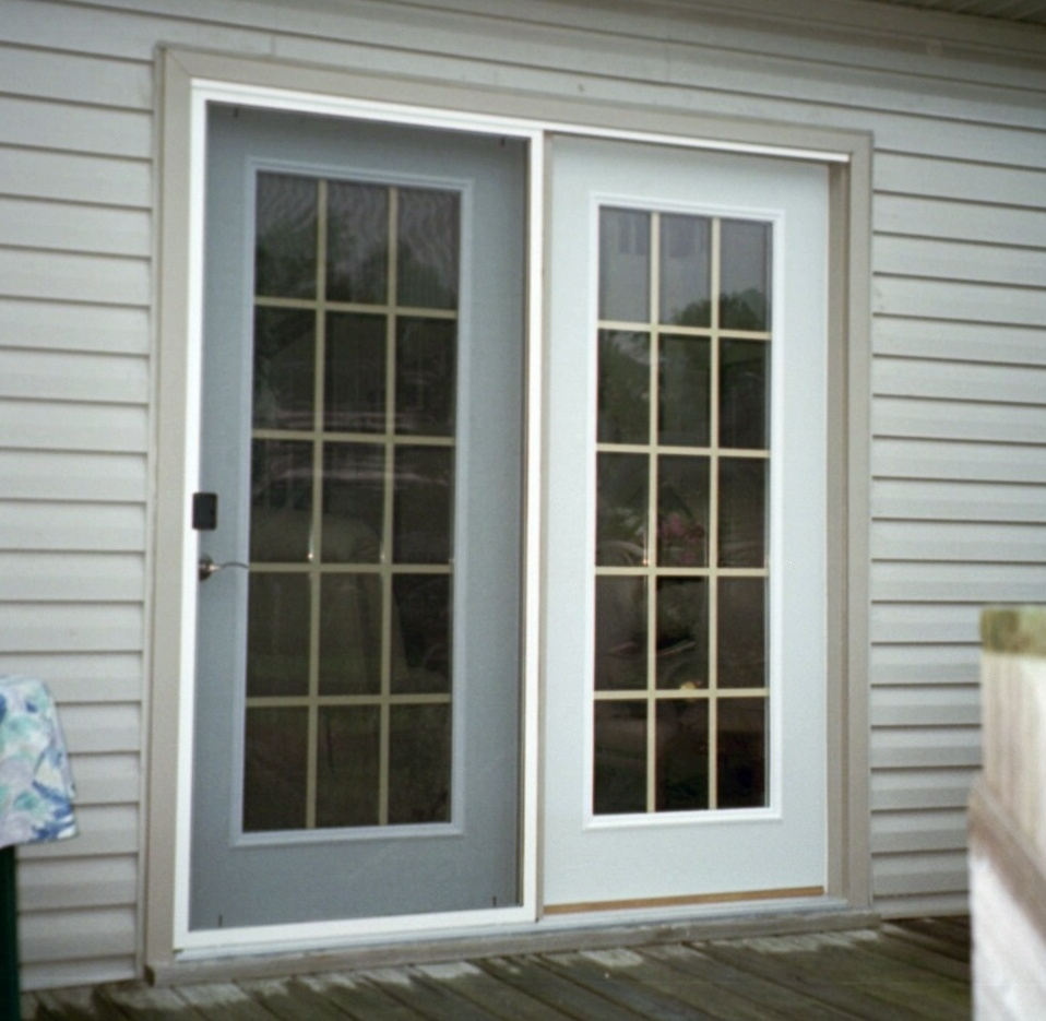 French and double glazed patio doors for Patio entry doors