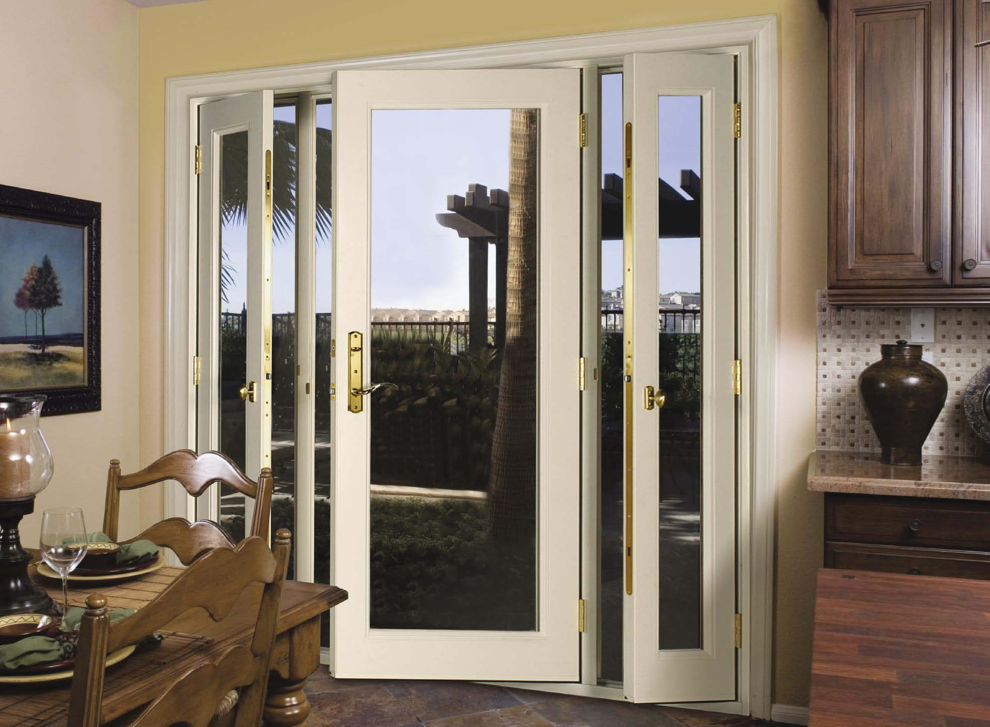 Venting Patio Door