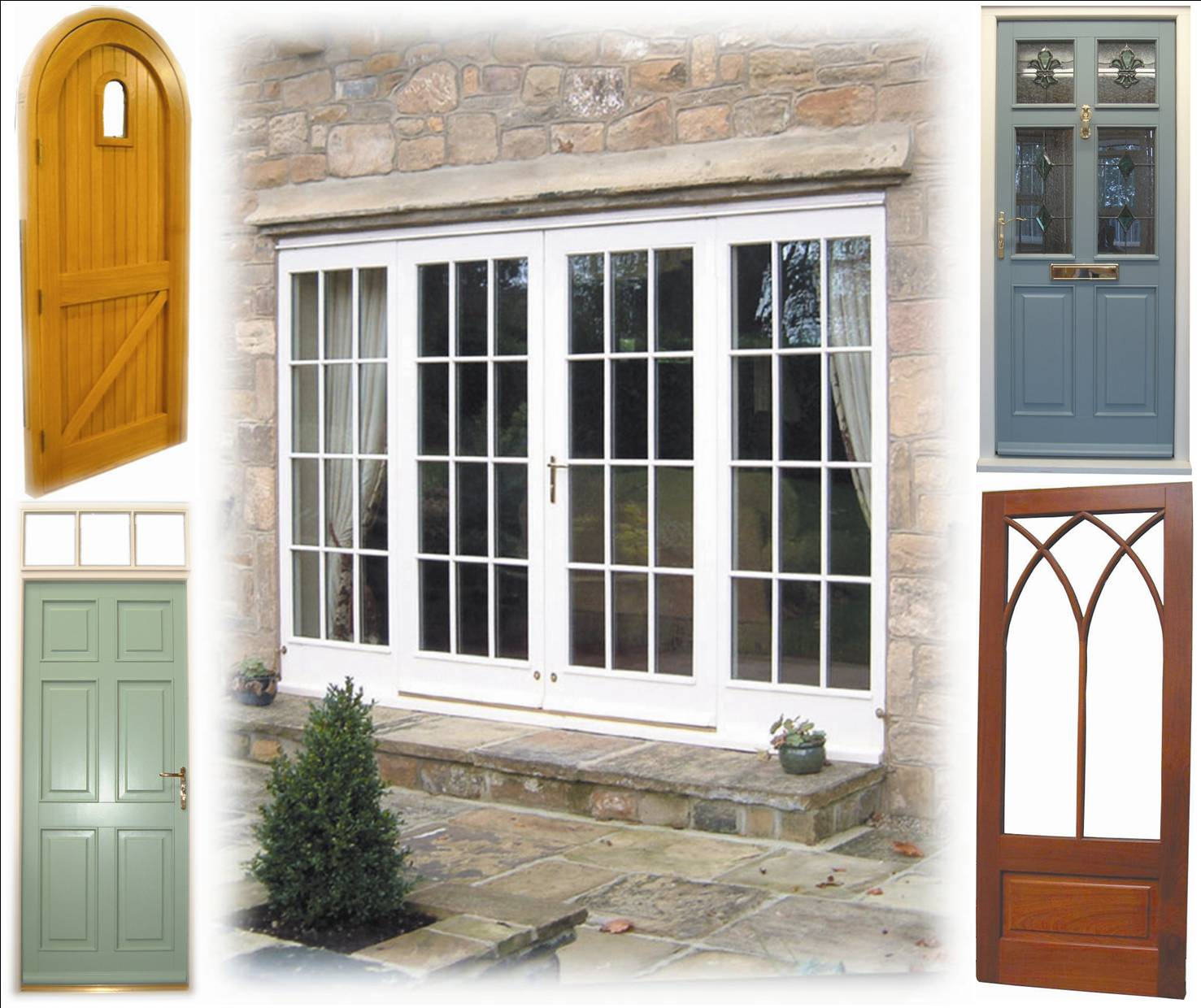 Patio door styles six patio door styles to bring the for Patio door styles